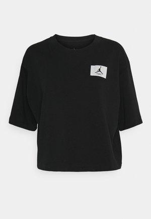 ESSEN BOXY TEE - Basic T-shirt - black