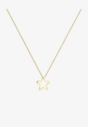 Stern - Halskette - gold-coloured