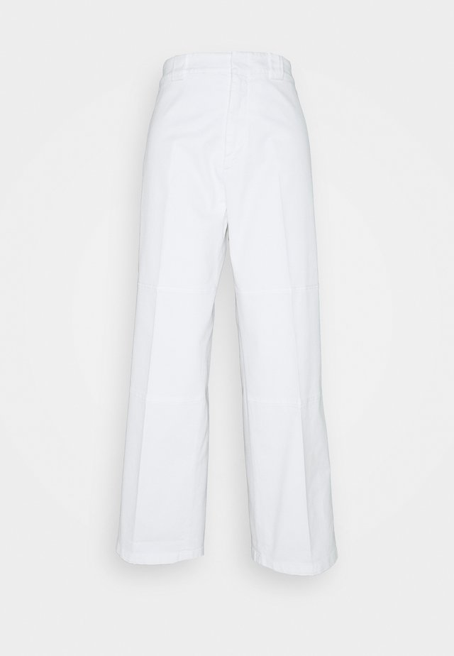 Pantalones chinos - white