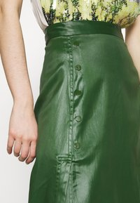 3.1 Phillip Lim - SKIRT WITH SIDE SNAP - Jupe trapèze - vetiver green - 4