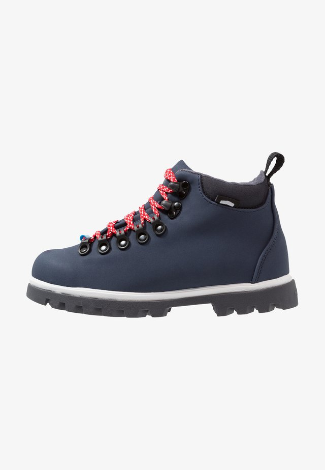 FITZSIMMONS TREKLITE - Lace-up ankle boots - regatta blue/shell white/onyx black