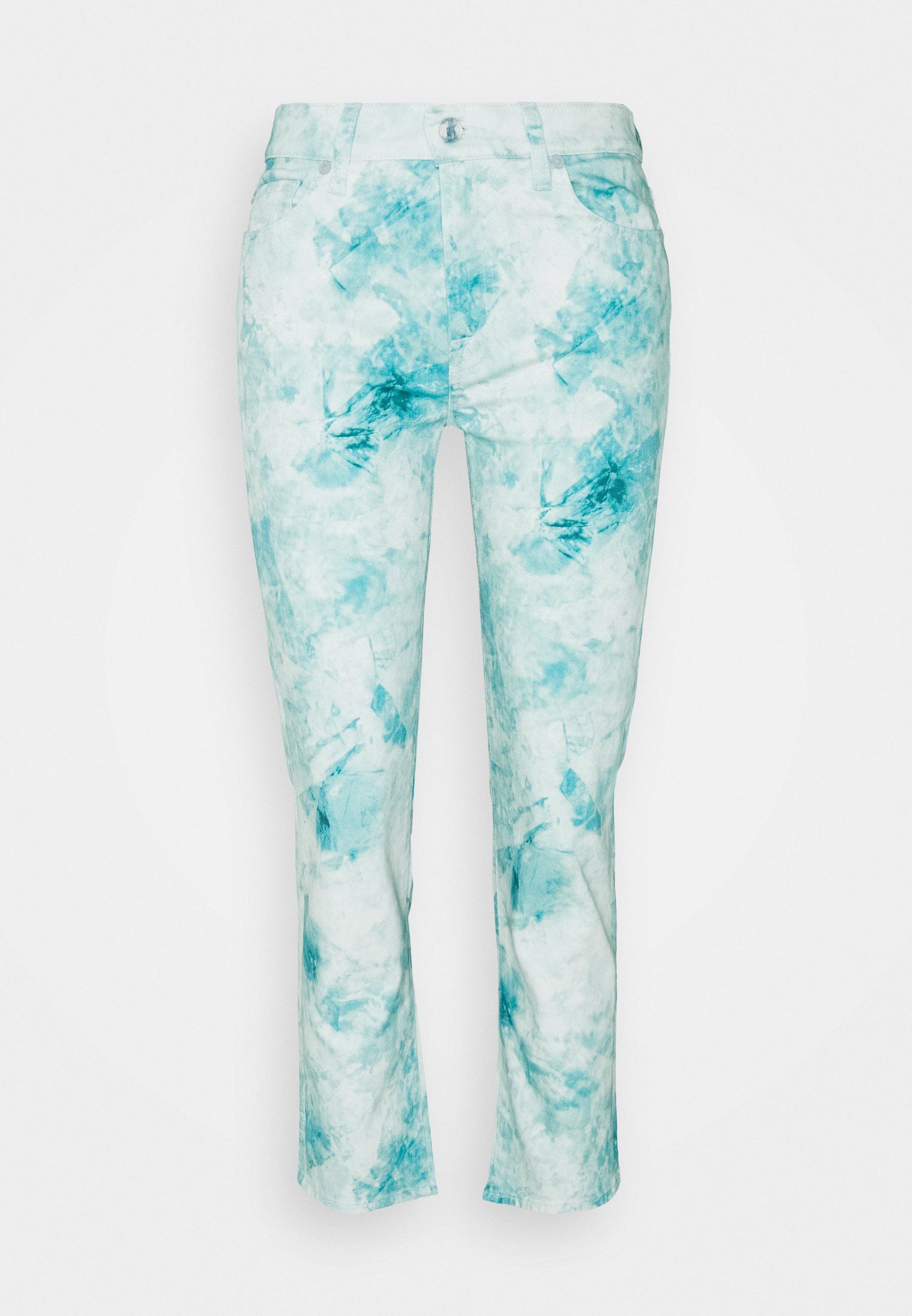 Women THE STRAIGHT CROP AQUEUP - Straight leg jeans