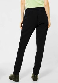 Street One - Tracksuit bottoms - schwarz - 1