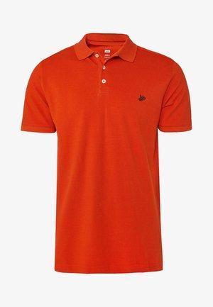 WE FASHION HERREN-PIQUÉ-POLOSHIRT AUS BIO-BAUMWOLLE - Polo shirt - orange