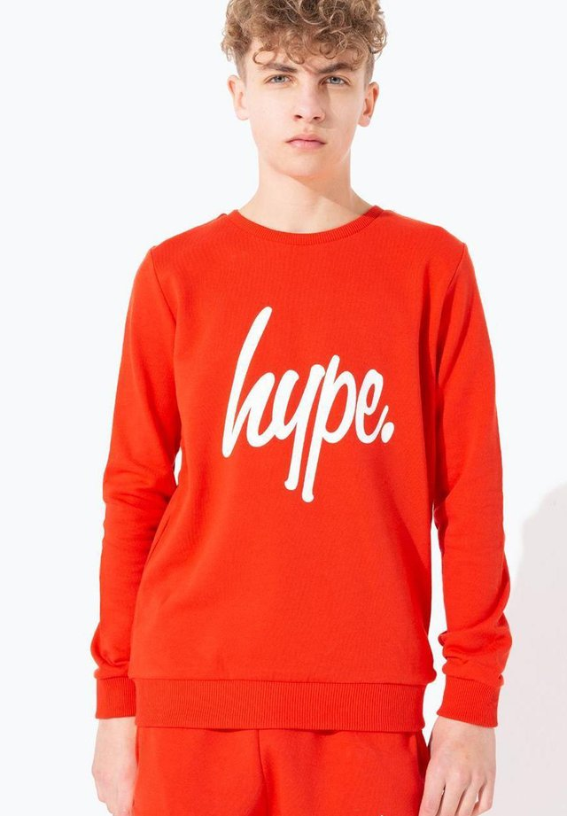 SCRIPT - Sweater - red