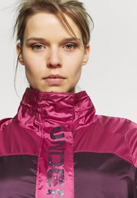 Under Armour - RECOVER SHINE  - Training jacket - polaris purple - 3