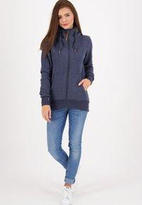 alife & kickin - VIVIANAK - Zip-up hoodie - marine - 1
