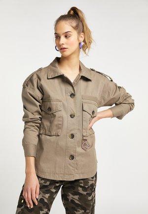 Summer jacket - schlamm