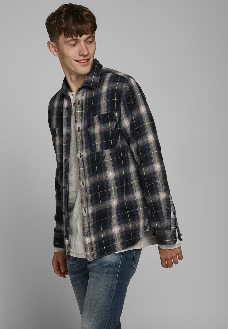 Jack & Jones PREMIUM - Skjorta - black denim