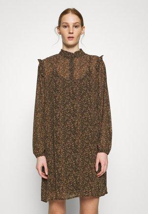 VMELINA  DOT SHORT DRESS  - Vestido informal - ivy green/multi