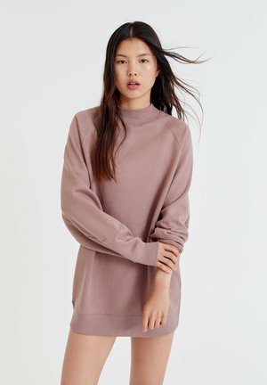 MIT LANGEN  - Jumper dress - mottled light pink