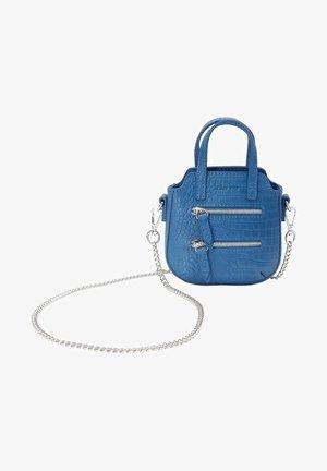 MINI VELYANE - Across body bag - bleu