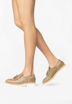 Nazouvací boty - tortora