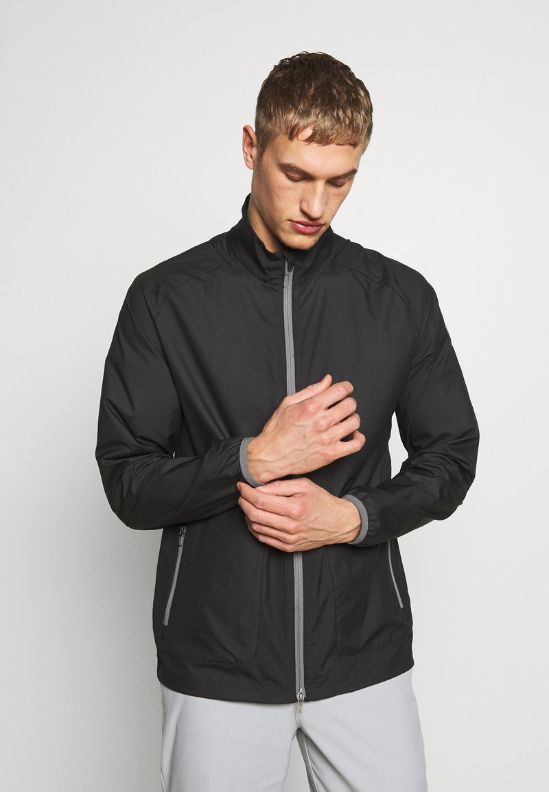 Puma Golf - ZEPHYR JACKET - Větrovka - black