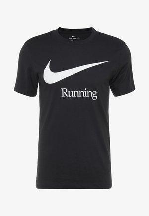 DRY RUN  - Print T-shirt - black/white