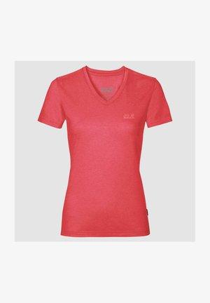 CROSSTRAIL - Basic T-shirt - tulip red