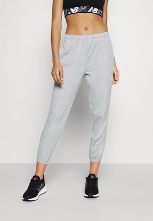 RELENTLESS JOGGER - Tracksuit bottoms - athletic grey