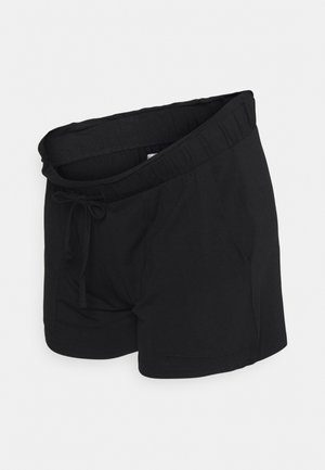 PCMNEORA FRILL - Shorts - black