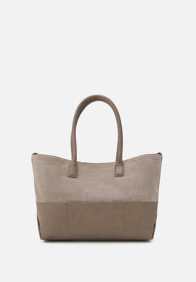 Shopping bags - taupe