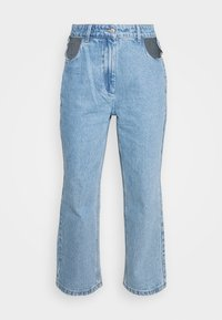 Milk it - BOYFRIEND CUTOUT POCKETS - Straight leg jeans - light blue - 3