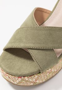 mtng - Sandály na vysokém podpatku - sandys natural/verde claro - 2