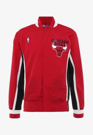 CHICAGO BULLS NBA AUTHENTIC WARM UP JACKETS - Kurtka sportowa - red