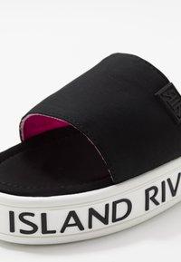 River Island - Pantofle - black - 2