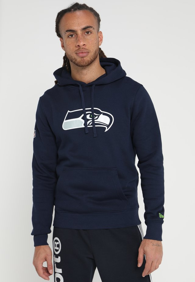 NFL TEAM LOGO SEATTLE SEAHAWKS - Hoodie - blue