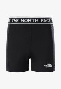 The North Face - G BIKE SHORT - Leggings - tnf black - 0