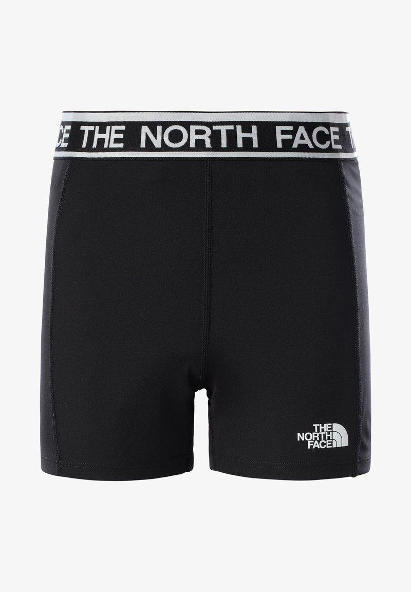 The North Face - G BIKE SHORT - Leggings - tnf black