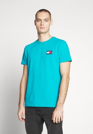 BADGE TEE  - T-shirt basique - exotic teal