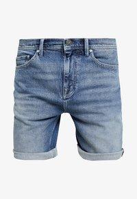 Amsterdenim - MOKUM - Shorts di jeans - steen - 4