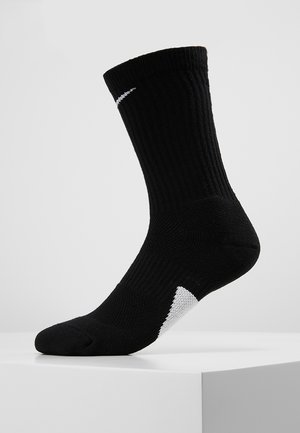 ELITE CREW - Sports socks - black/white/white
