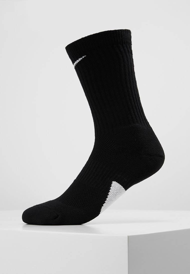 Nike Performance - ELITE CREW - Calze sportive - black/white/white