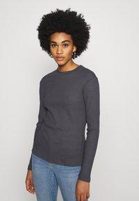 Even&Odd - Long sleeved top - dark grey - 0