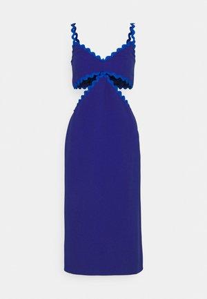 CUT OUT DRESS - Cocktail dress / Party dress - blue