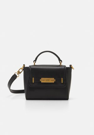 BEA MINI TOP HANDLE FLAP - Handbag - black