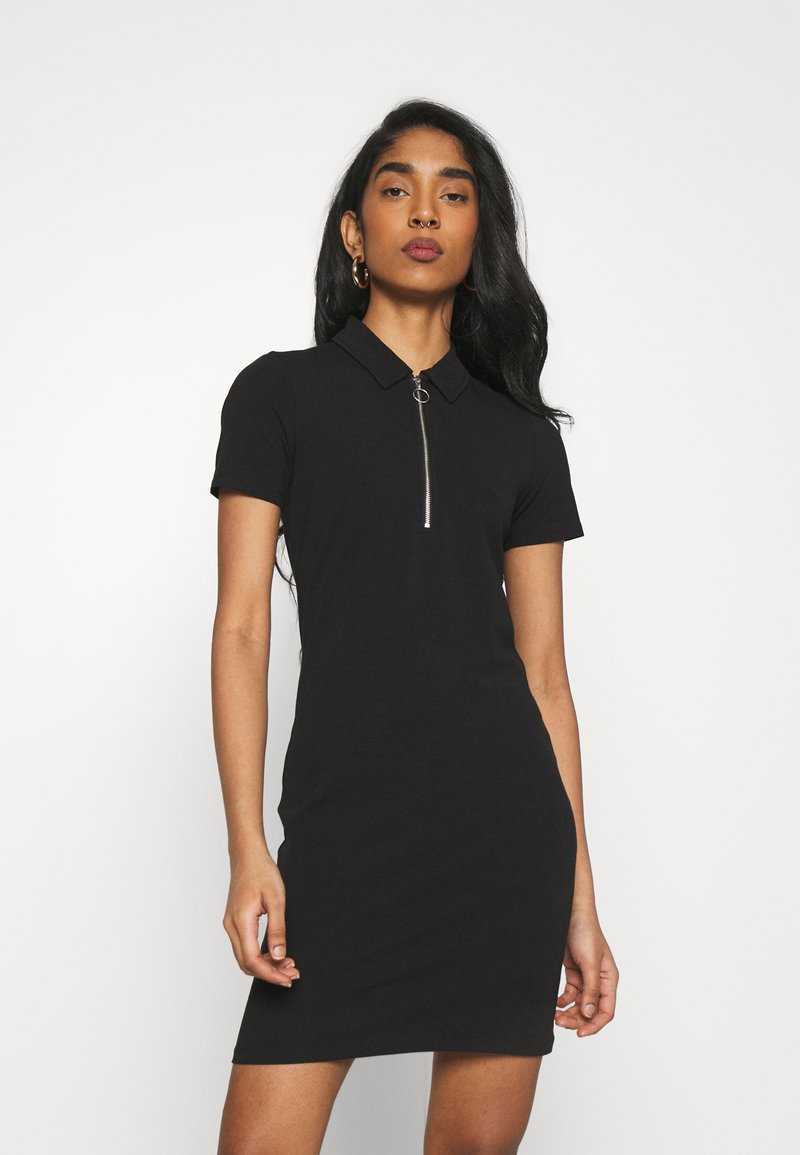 ONLY - ONLEMMA DRESS - Žerzejové šaty - black