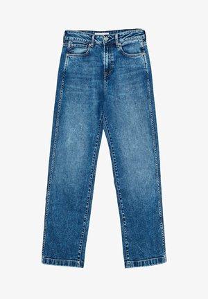 DUA LIPA X PEPE JEANS  - Jeansy Straight Leg - blue denim