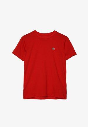 LOGO UNISEX - Basic T-shirt - red