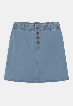 NKFBECKY  - Denim skirt - light blue denim