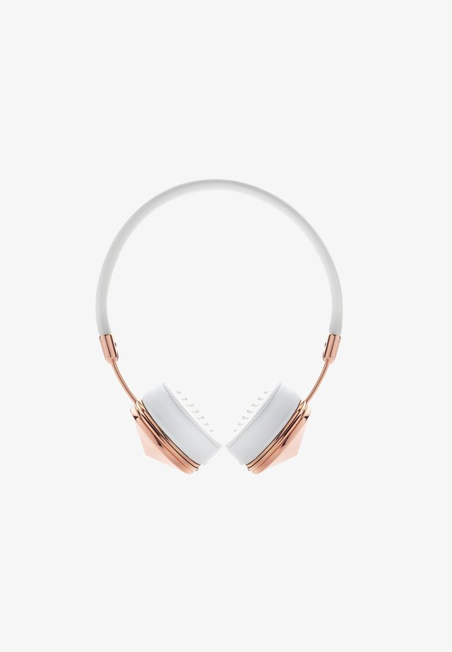 Headphones - bundle, layla, rose gold, wired