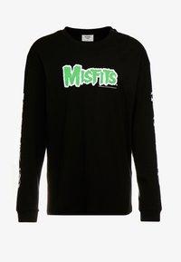 Revival Tee - MISFITS - Bluzka z długim rękawem - black - 3