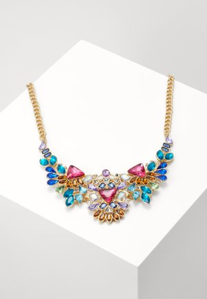 PCABBY NECKLACE - Collana - gold-coloured/multi