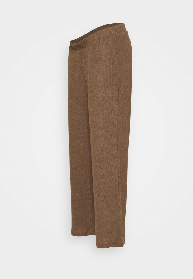 PCMHERMIONE PANTS - Kalhoty - taupe