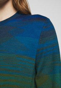 Missoni - LONG SLEEVE CREW NECK - Neule - dark blue - 5