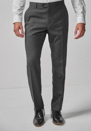Pantaloni eleganti - mottled grey