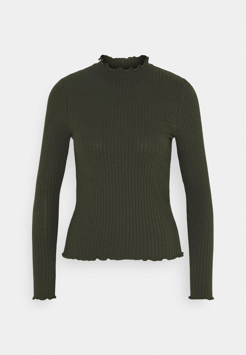 JDY - JDYFRANSISKA - Langærmede T-shirts - rosin