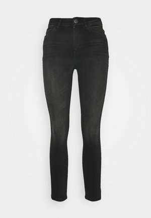 ONLBLUSH HIGH WAIST  - Jeans Skinny Fit - black denim