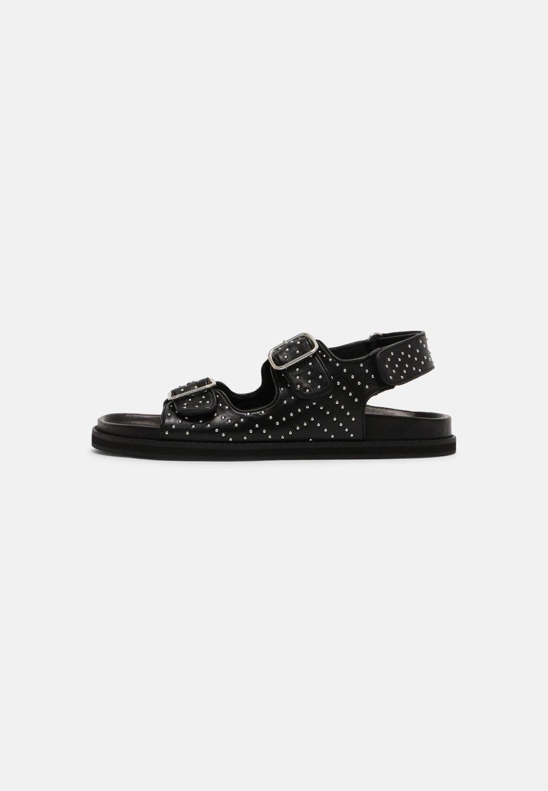 maje - FIAMABUCKLE - Sandals - noir